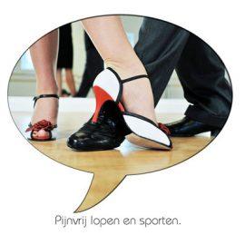 Pijnvrij lopen en sporten
